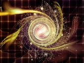 Lights of Abstract Visualization — Stock Photo