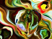 Vie intérieure des formes de l'esprit — Photo