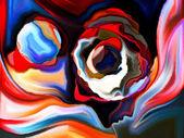 Desdobramento das formas da mente — Fotografia Stock