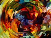 Dance of Inner Paint — Stock Photo