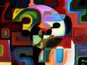 Colori artificiali — Foto Stock