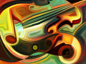 Conceptual Music — Stock Photo