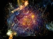 Digital Network — 图库照片