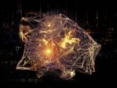 コンピューティング ネットワーク — ストック写真