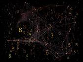 Werkende netwerk — Stockfoto