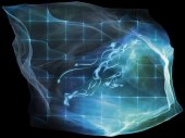 Artificial Mind Particle — Stock Photo