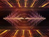Toward Digital Light Waves — Stock Photo