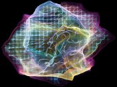 Virtual Mind Particle — Stock Photo