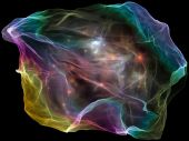 Mind Particle Abstraction — Stock Photo