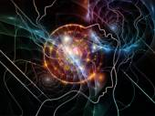 Unfolding of Thought Network — Stock Photo