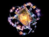 Пламя драгоценности — Стоковое фото