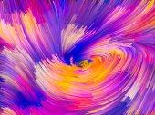 Virtual Color Vortex — Stock Photo