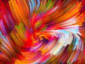 Conceptual Color Vortex — Stock Photo