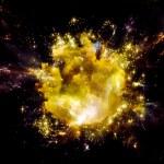 Inner Life of Nebula — Stock Photo #77160597