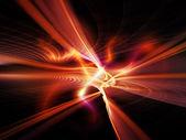 Virtual Light Waves — Stock Photo