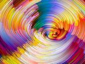 Vibrant Color Vortex — Stock Photo