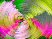 颜色涡抽象 — 图库照片