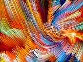 Fond de Vortex de couleur — Photo