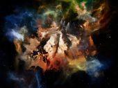 Rozvíjející se sen prostoru — Stock fotografie