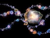 Way of Jewels — Stock Photo