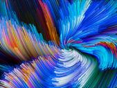 Color Vortex Background — Stock Photo