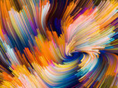Metaphorical Color Vortex — Stock Photo