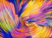 Color Vortex Composition — Stock Photo