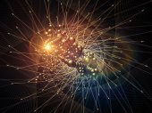 Virtual Particles — Stock Photo