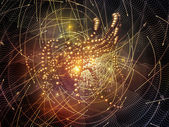 Synergies of Particles — Stock Photo