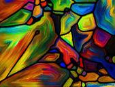 Evolving Pattern background — Stock Photo