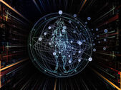 Virtual Sacred Geometry — Stock Photo