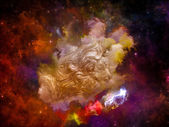 Painted Dream Space — Stock Photo