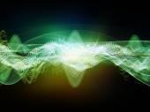 Zaliczkę w wysokości dźwięku — Zdjęcie stockowe