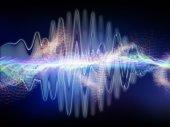 Wirtualizacja dźwięku — Zdjęcie stockowe
