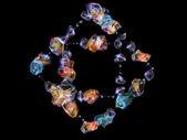 宝石のエネルギー — ストック写真
