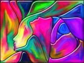 Ange färger — Stockfoto