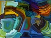 Lights of Stained Glass — Stock Photo