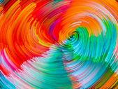 Composição de vórtice de cor — Fotografia Stock