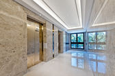 Lift lobby in beautiful marble  — Stock Photo