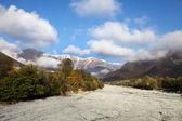 Beatiful autumn in Caucasus Mountains, Azerbaijan — Stock Photo