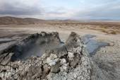 Mud vulcano, Gobustan, Azerbaijan — Stock Photo