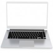 3d detailed laptop — Stockfoto