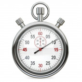 3d Stopwatch, time concept — Stock Photo