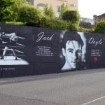 Mural dedicated to Jack Doyle — Stock Photo #70203119