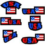 USA buttons — Stock Vector #52757759