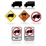 Постер, плакат: Truck signs