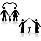 Family life — Stock Vector