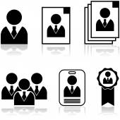 New employee — Stock Vector