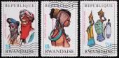 Sello de correos. Rwanda — Foto de Stock