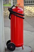 Powder extinguisher — Stock Photo